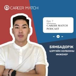 Career Match #7 : Бямбадорж , Ахлах дэслэгч, Зэвсэгт хүчний 124-р анги